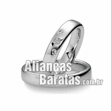 Alianças baratas de noivado