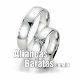 Alianças baratas de casamento e noivado