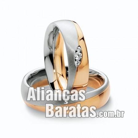 Alianças para casamento e noivado baratas