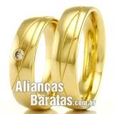 Alianças baratas para casamento