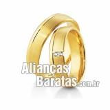 Alianças barata de noivado
